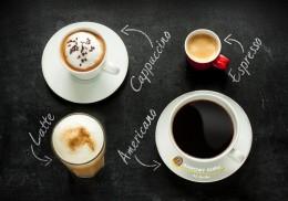Espresso, cappuccino, latte, americano… Czym się różni kawa od kawy?