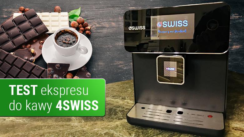 Test ekspresu do kawy 4SWISS Roma A10