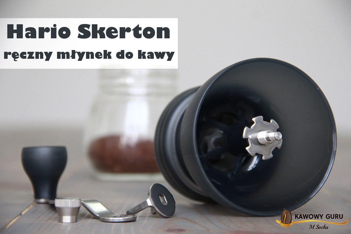 Hario Skerton – ręczny młynek do kawy