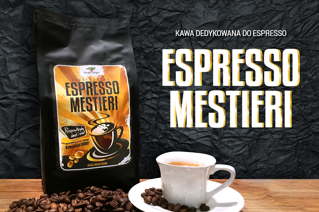 Espresso Mestieri – kawa dedykowana do espresso