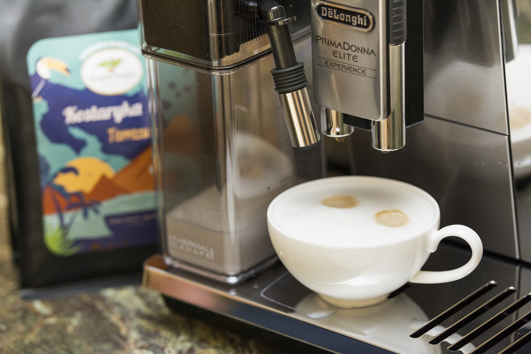 LatteCrema - System mleczny w ekspresach De'Longhi