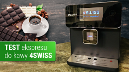 Test ekspresu do kawy 4SWISS Roma A10