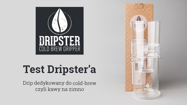 Test Dripstera do cold-brew