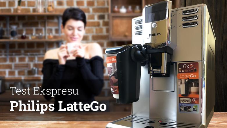 Test ekspresu do kawy Philips 5000 LatteGo