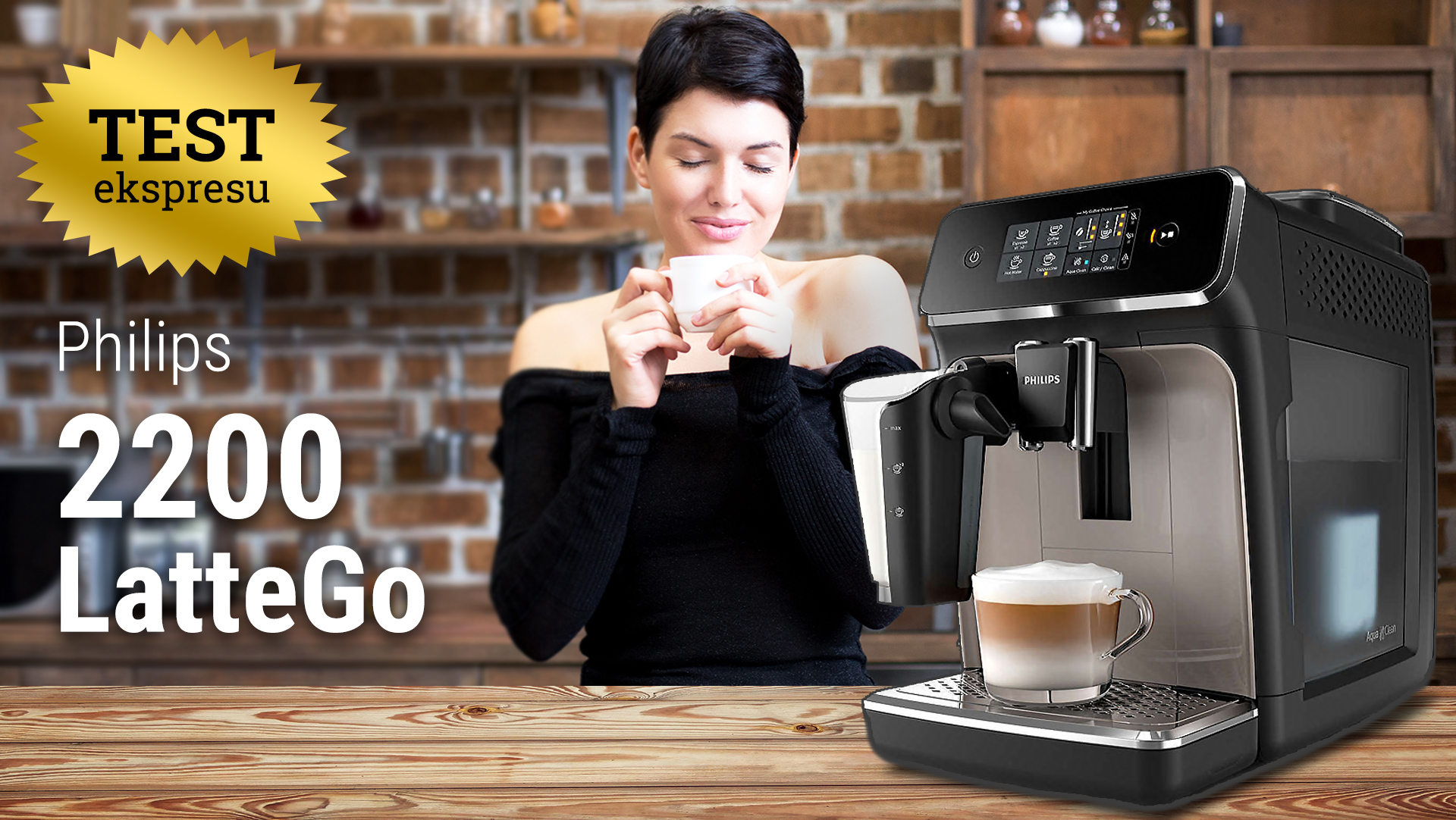 Test ekspresu do kawy Philips 2200 LatteGo